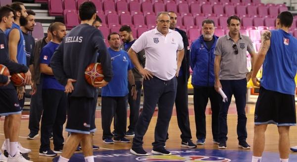 Σκουρτόπουλος: «Έτοιμοι για την Εσθονία»
