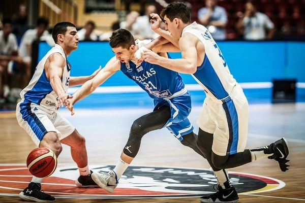 Έχασε τη… μπάλα κόντρα στο Ισραήλ η εθνική νέων ανδρών στο Ευρωμπάσκετ U20