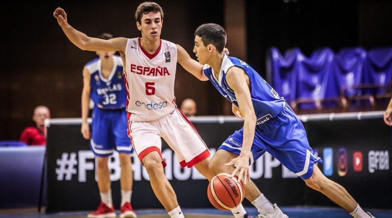 Euro U16: «Έπνιξε» τους Παίδες η Ισπανία