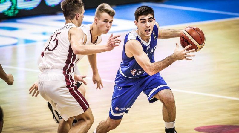 Euro U16: Νίκησε τη Λετονία και παίζει για την 5η θέση η Ελλάδα