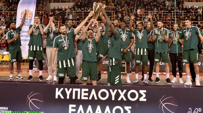 ΚΥΠΕΛΛΟ ΕΛΛΑΔΑΣ: Στα «πράσινα» ο τίτλος… 79-73 ο Παναθηναϊκός νίκησε τον ΠΑΟΚ