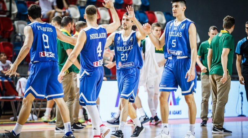 Eurobasket U20: 9η με 100άρα η Εθνική Νέων