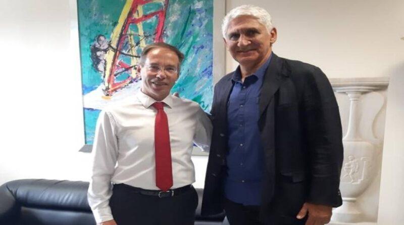 Συνάντηση με τον ΓΓΑ Μαυρωτά είχε ο Γιαννάκης