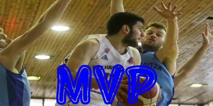 Ο Παναγιώτης Ερμείδης MVP της 11ης αγωνιστικής