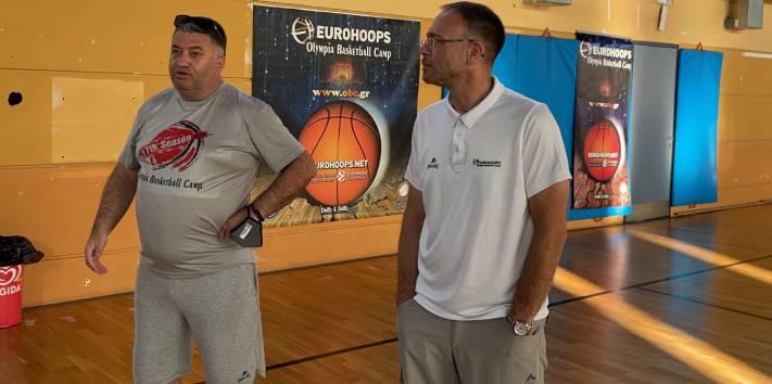 Ο Μάκης Γιατράς στο Eurohoops Olympia Basketball Camp !