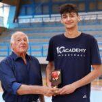 Πανελλήνιο παίδων: MVP και πρώτος σκόρερ ο Σαμαντούροβ