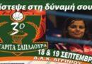 3ο τουρνουά «Μαργαρίτα Σαπλαούρα»: Νίκες για Αίολο Αγυιάς και Αγρίνιο